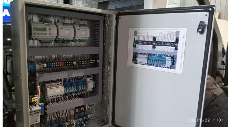 Шкаф управления климатической установкой на транспортном средстве